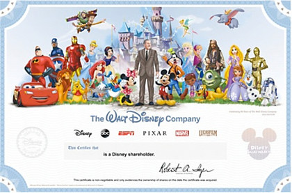 Welcome Disney Shareholders